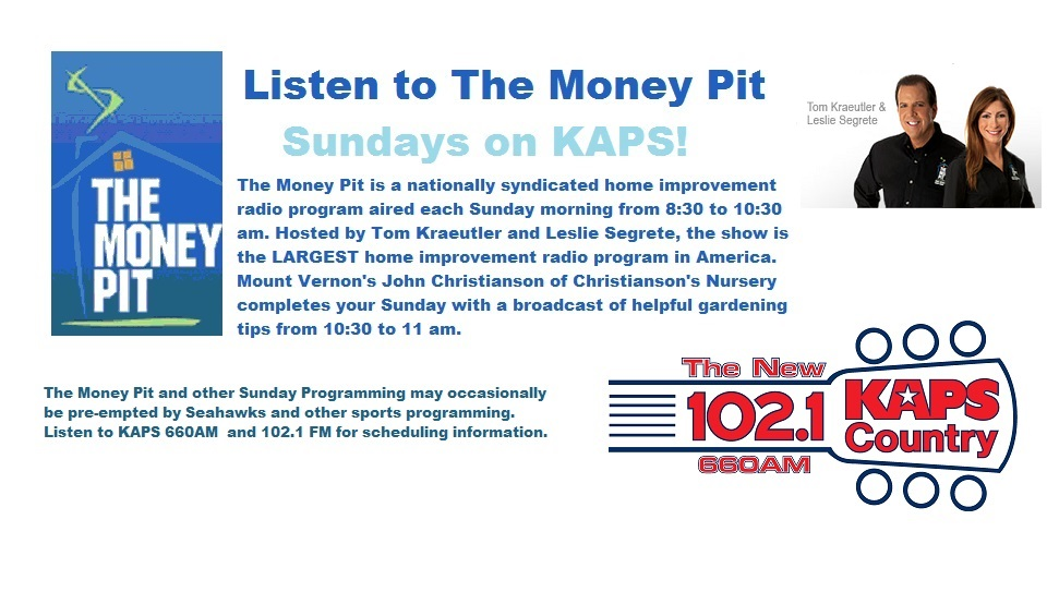 Listen to The Money Pit Sunday Mornings